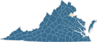 Map of Stafford County